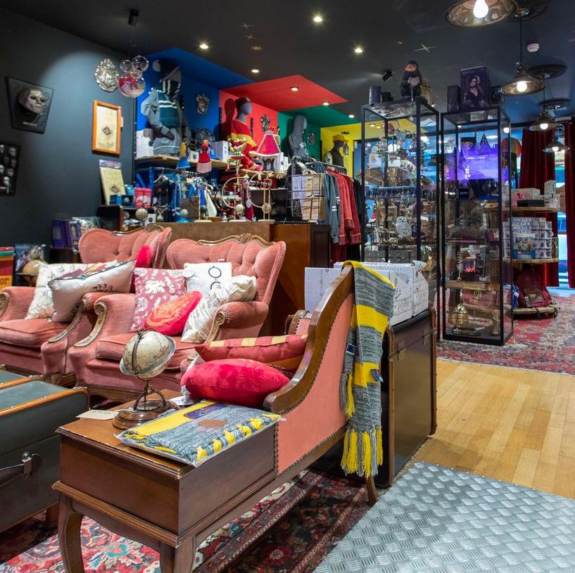 Les 4 Maisons: première boutique 100% Harry Potter