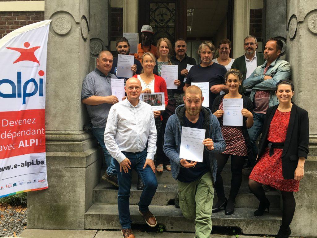 Remise certificats de gestion Huy