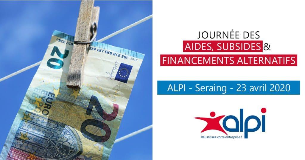 Journée des financements ALPI
