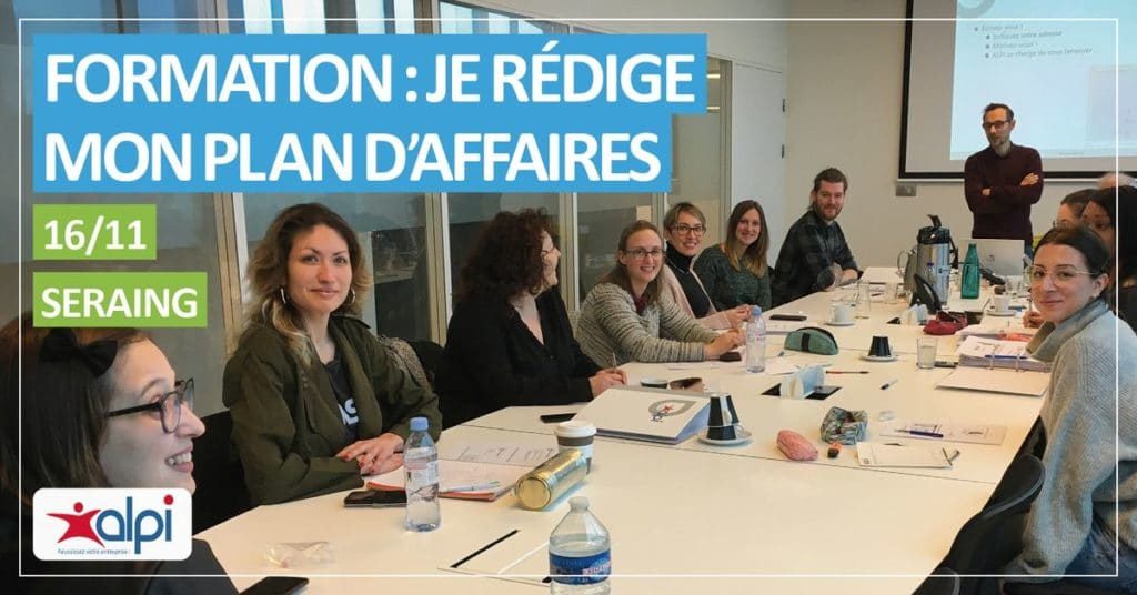 formation plan d'affaires ALPI